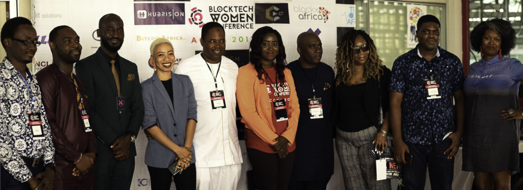 blocktech-women-conference-speakers-line-up-for-red-carpet-pictures