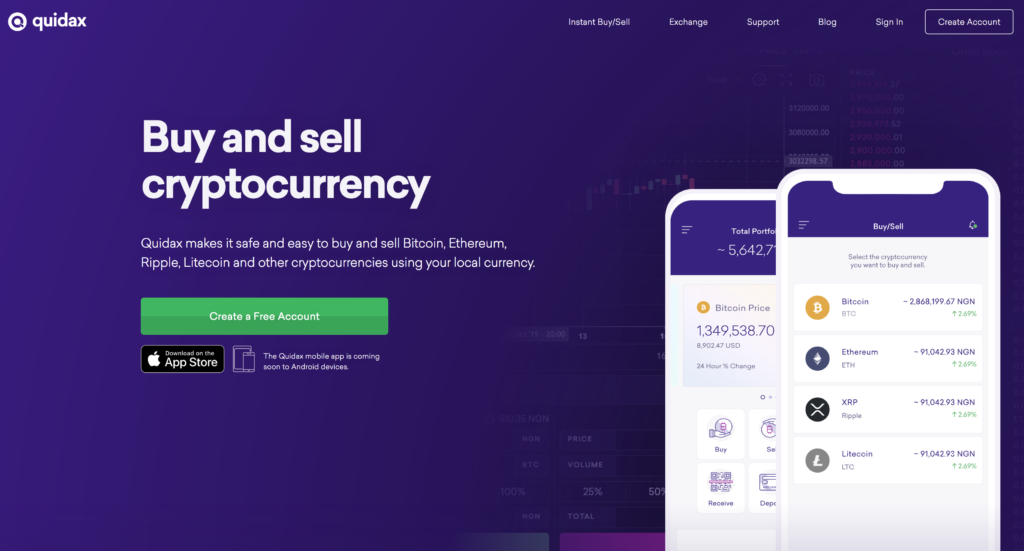 quidax-nigeria-cryptocurrency-exchange-sell-and-buy-cryptocurrency-in-nigeria