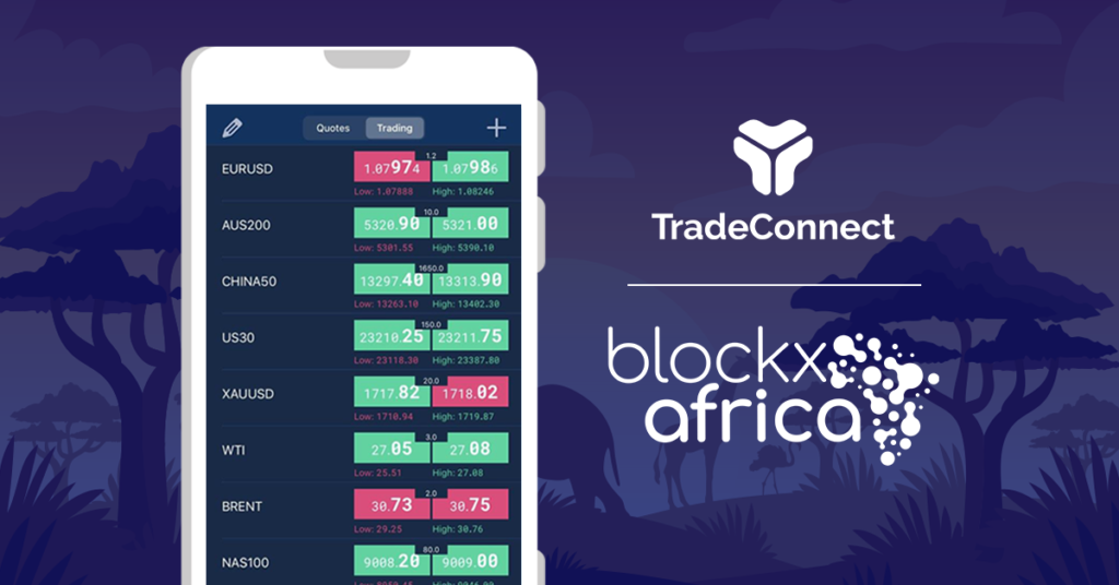 TradeConnect Partners with BlockXAfrica to Expand Education in Africa