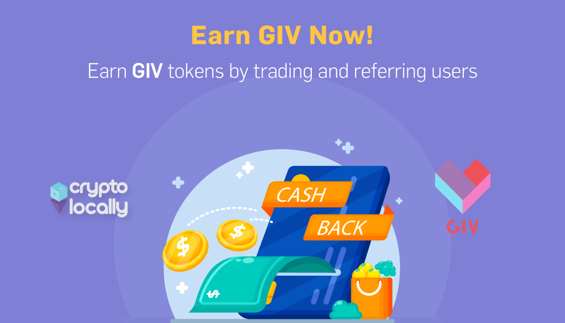 cryptolocally-GIV-token-launched