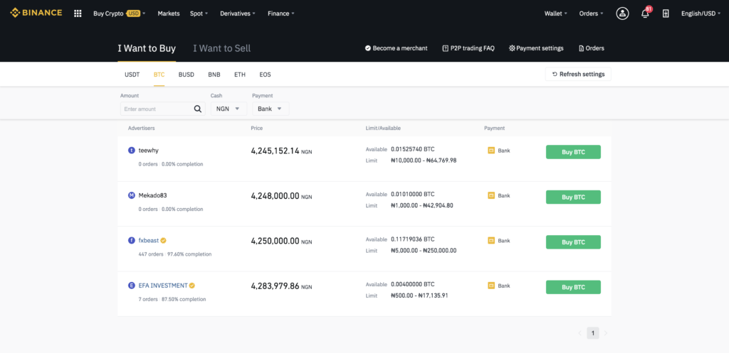 binance-P2P-in-Nigeria-buy-BTC-page