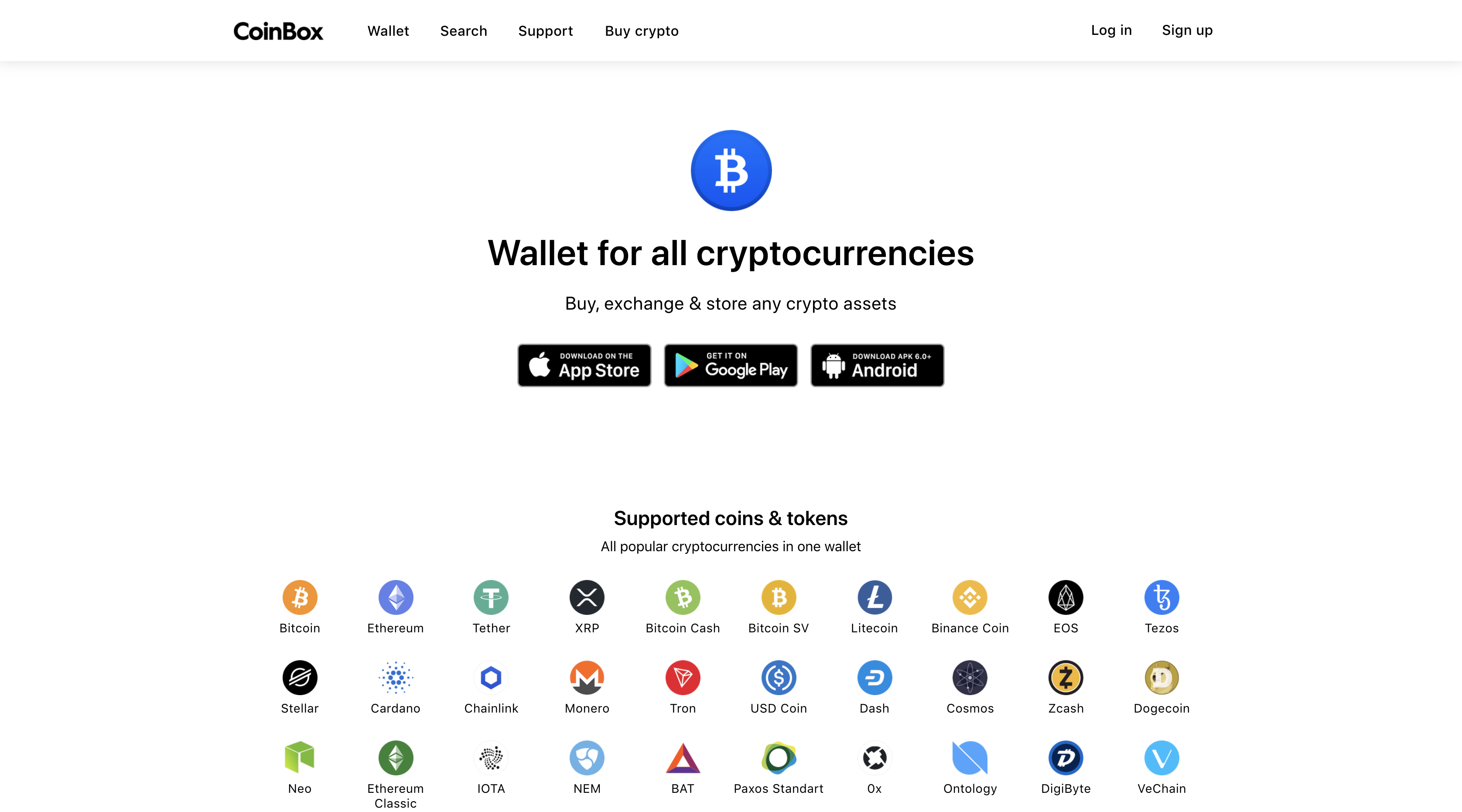 coinbox-wallet-homepage